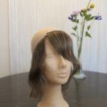 Echthaar-Haarband Eigenproduktion aus gespendetem Haar